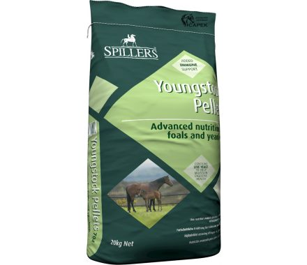 Granule Spillers -YOUNGSTOCK PELLETS-