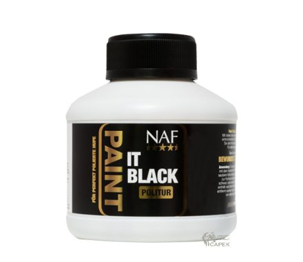 Lesk na kopyta NAF -PAINT IT BLACK-