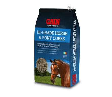 Granule GAIN -High Grade Horse & Pony Cubes-